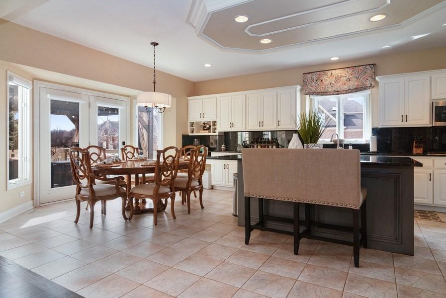 Real Estate Photography - 2019 RACHEL Lane, Aurora, IL, 60502 - Kitchen / Breakfast Room