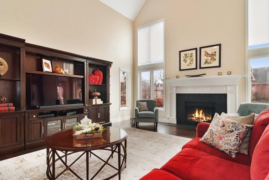 Real Estate Photography - 2019 RACHEL Lane, Aurora, IL, 60502 - Family Room