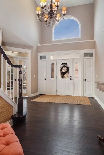 Real Estate Photography - 2019 RACHEL Lane, Aurora, IL, 60502 - Foyer