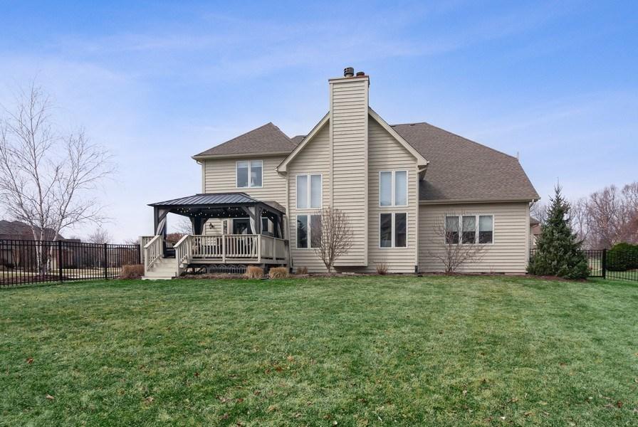 Real Estate Photography - 2019 RACHEL Lane, Aurora, IL, 60502 - Rear View