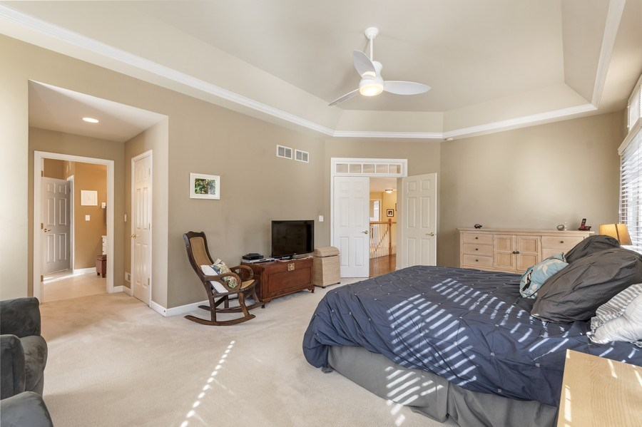 Real Estate Photography - 1668 IMPERIAL Circle, Naperville, IL, 60563 - Master Bedroom