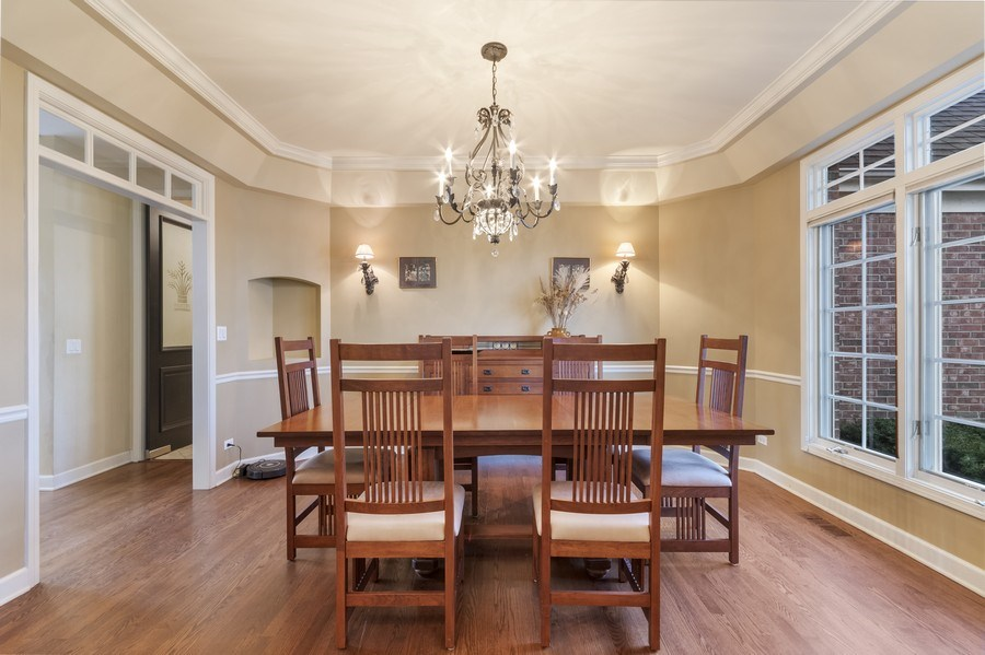Real Estate Photography - 1668 IMPERIAL Circle, Naperville, IL, 60563 - Dining Room