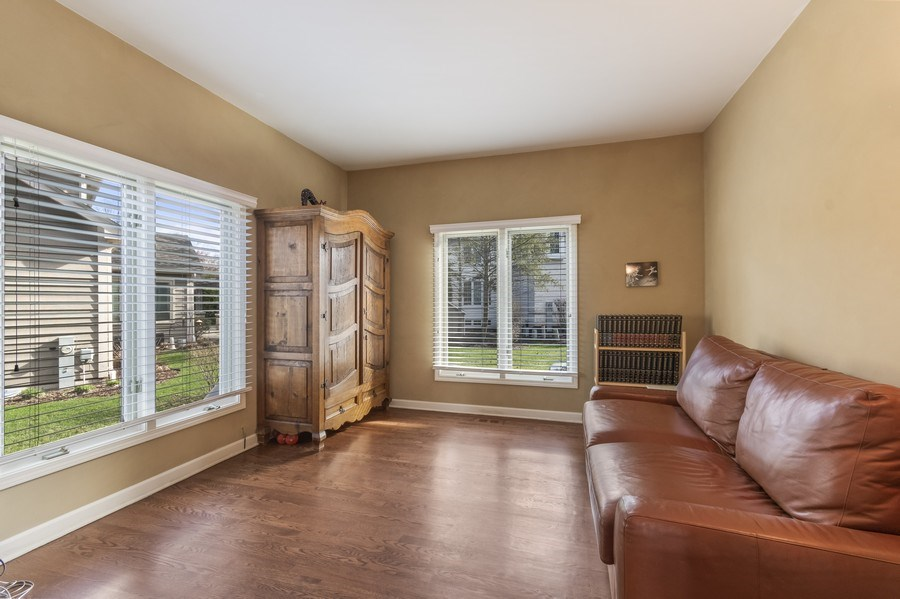 Real Estate Photography - 1668 IMPERIAL Circle, Naperville, IL, 60563 - Den