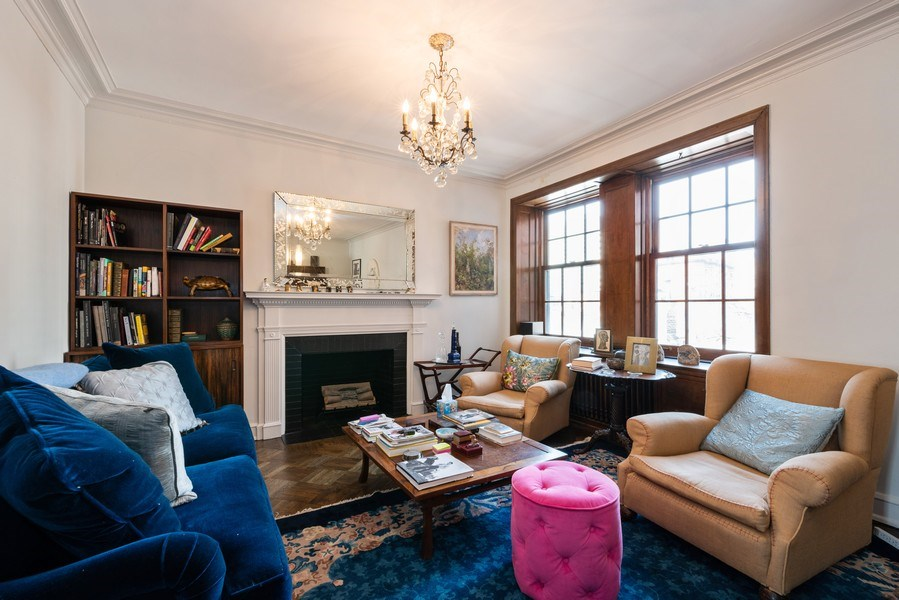 Real Estate Photography - 73 E. Elm Street, Unit 5D, Chicago, IL, 60611 - Living Room