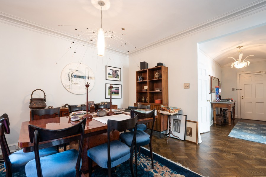 Real Estate Photography - 73 E. Elm Street, Unit 5D, Chicago, IL, 60611 - Dining Room