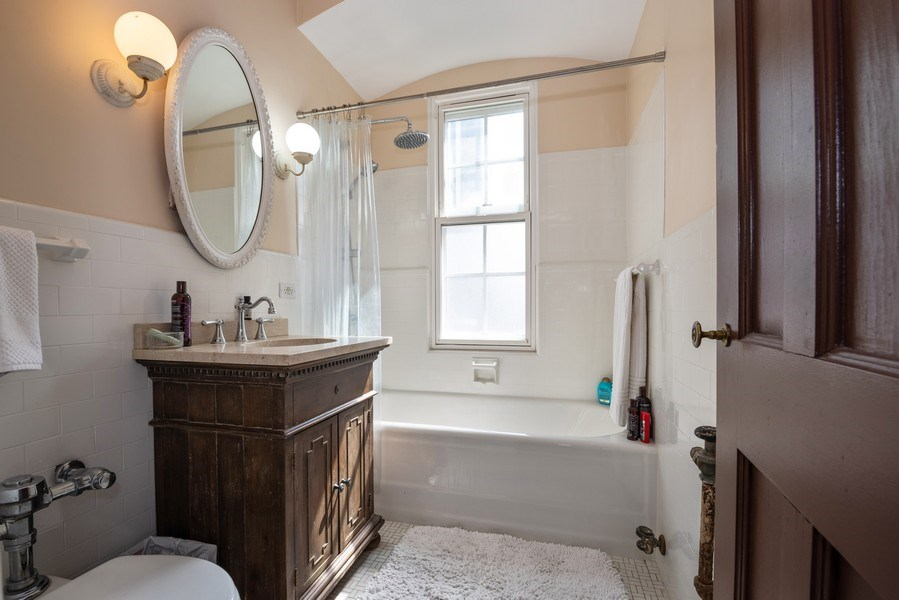 Real Estate Photography - 73 E. Elm Street, Unit 5D, Chicago, IL, 60611 - Bathroom