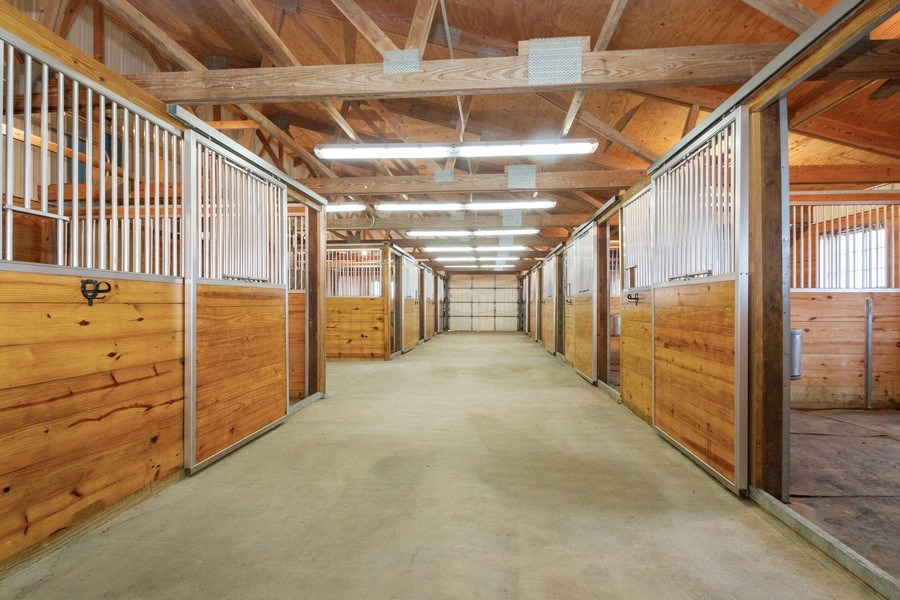 Real Estate Photography - 2411 B South Country Club, Woodstock, IL, 60098 - Middle barn stalls