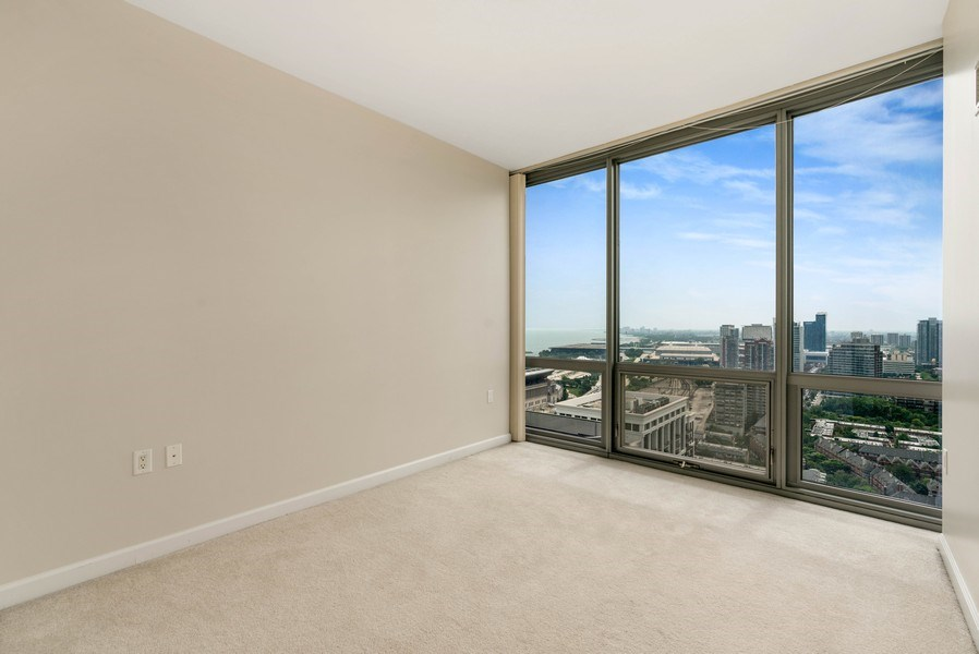Real Estate Photography - 1235 S. Prairie Avenue, Unit 3105, Chicago, IL, 60605 - 2nd Bedroom