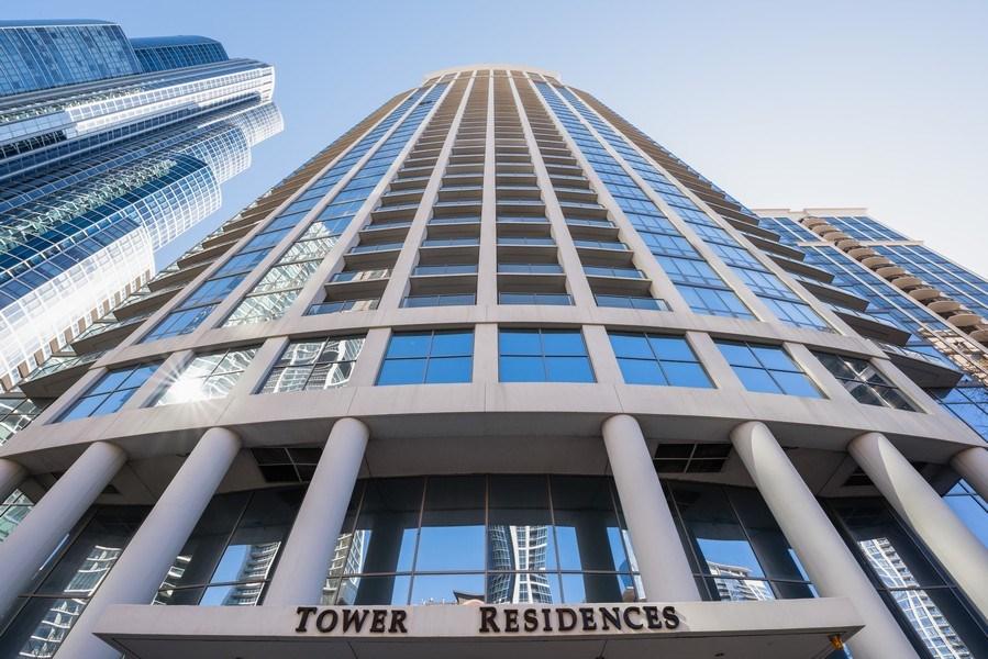 Real Estate Photography - 1235 S. Prairie Avenue, Unit 3105, Chicago, IL, 60605 - Front View
