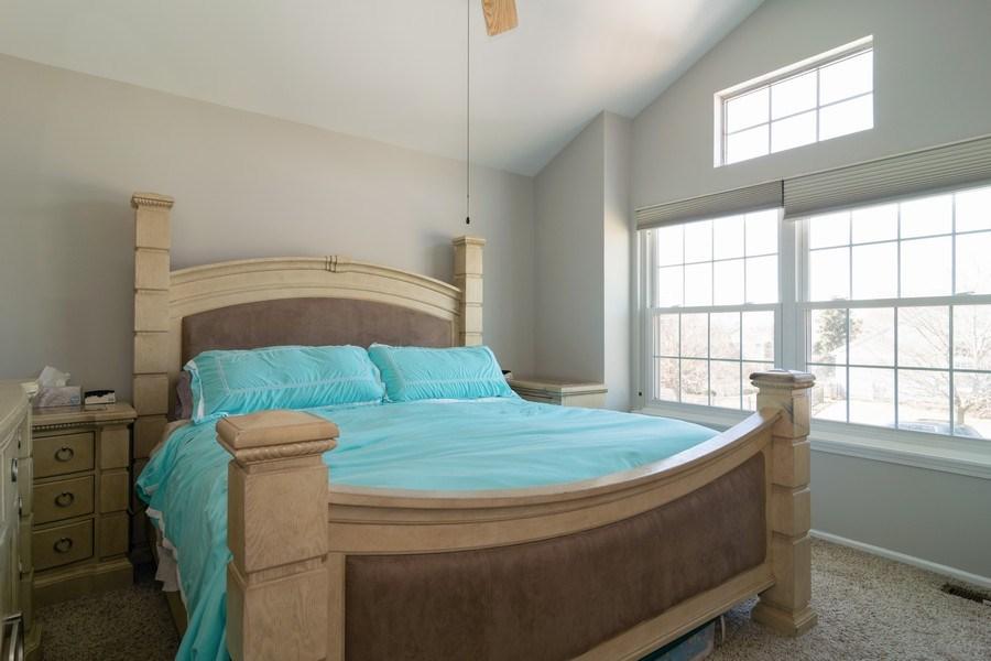 Real Estate Photography - 485 Harvard Lane, Bartlett, IL, 60103 - Master Bedroom