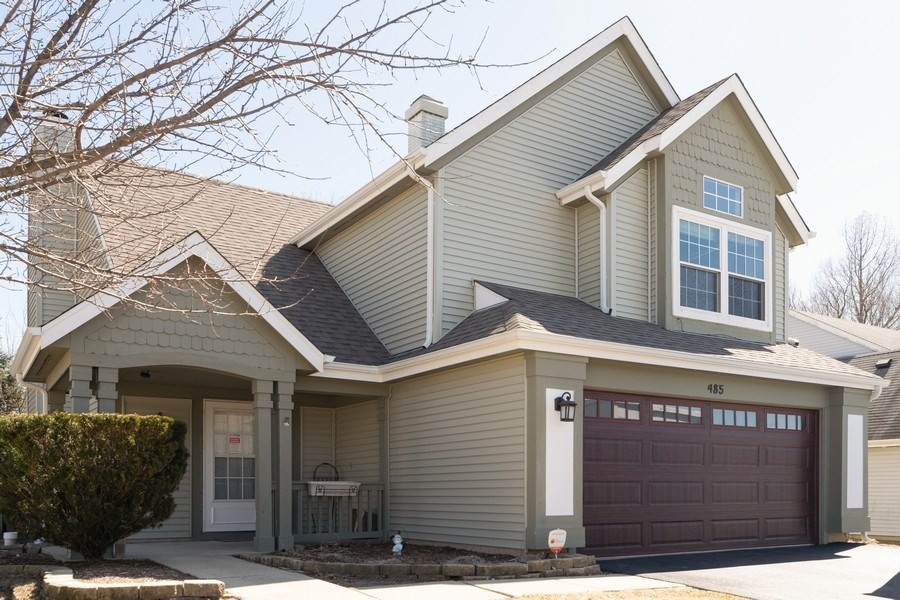 Real Estate Photography - 485 Harvard Lane, Bartlett, IL, 60103 - Front View