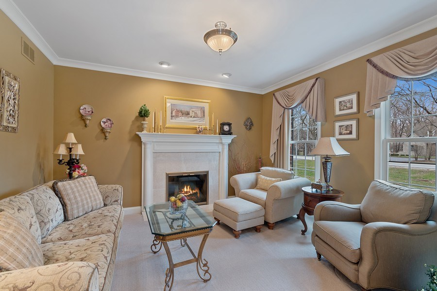 Real Estate Photography - 647 Plainfield Naperville Road, Naperville, IL, 60540 - Enjoy your favorite book & the gas FPL