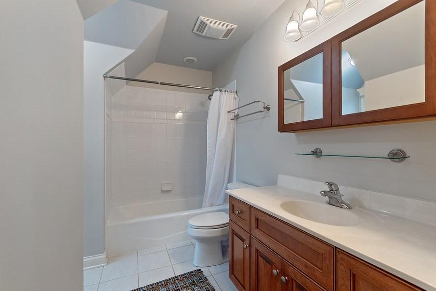 Real Estate Photography - 647 Plainfield Naperville Road, Naperville, IL, 60540 - Ensuite bath for BR 2