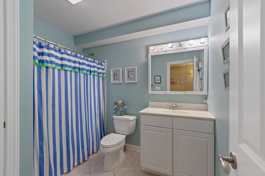Real Estate Photography - 647 Plainfield Naperville Road, Naperville, IL, 60540 - Full basement bath