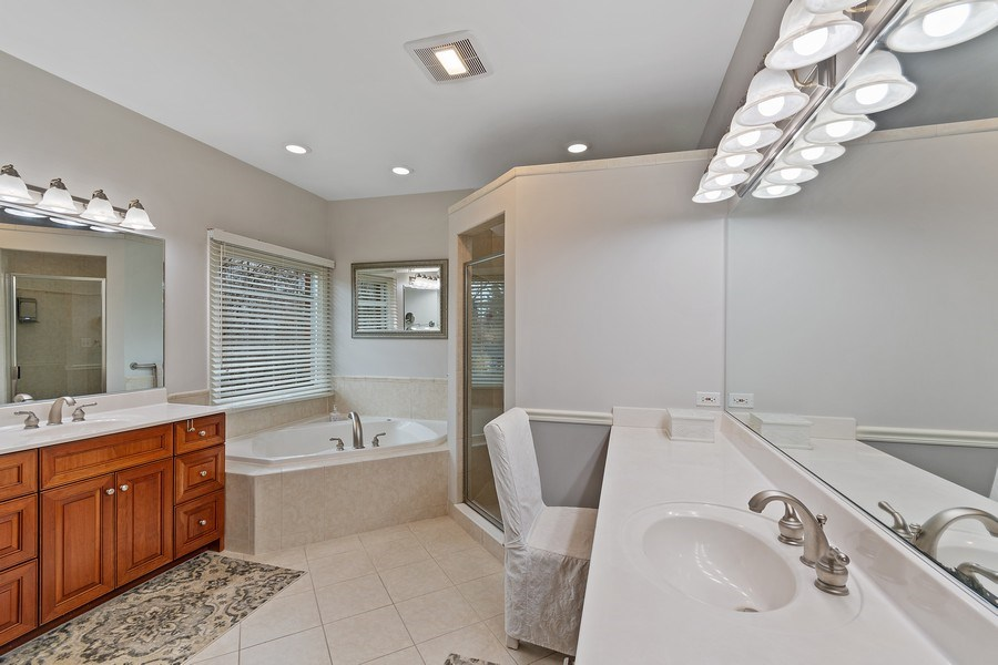 Real Estate Photography - 647 Plainfield Naperville Road, Naperville, IL, 60540 - Luxurious master bath
