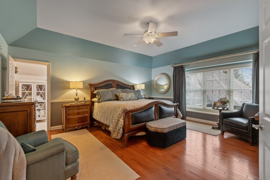 Real Estate Photography - 647 Plainfield Naperville Road, Naperville, IL, 60540 - Beautiful master BR suite
