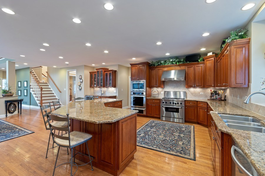Real Estate Photography - 647 Plainfield Naperville Road, Naperville, IL, 60540 - Professional appliances & granite surfaces