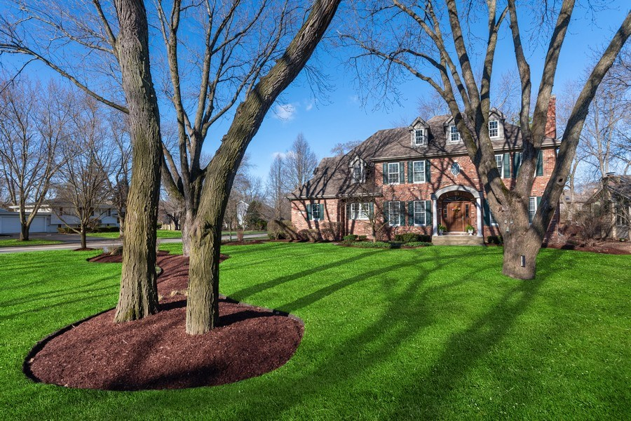 Real Estate Photography - 647 Plainfield Naperville Road, Naperville, IL, 60540 - Nearly 1/2 acre yard simply breathtaking