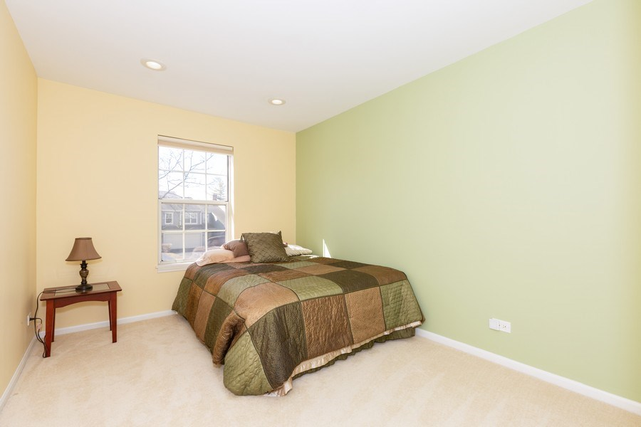 Real Estate Photography - 1514 W. Orchard Place, Arlington Heights, IL, 60005 - 2nd Bedroom