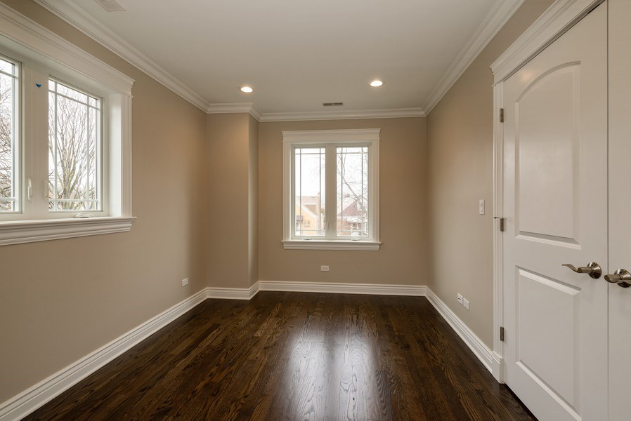 Real Estate Photography - 4130 North Mango Ave, Chicago, IL, 60634 - 2nd Bedroom