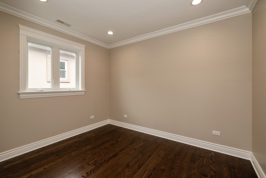 Real Estate Photography - 4130 North Mango Ave, Chicago, IL, 60634 - 4th Bedroom