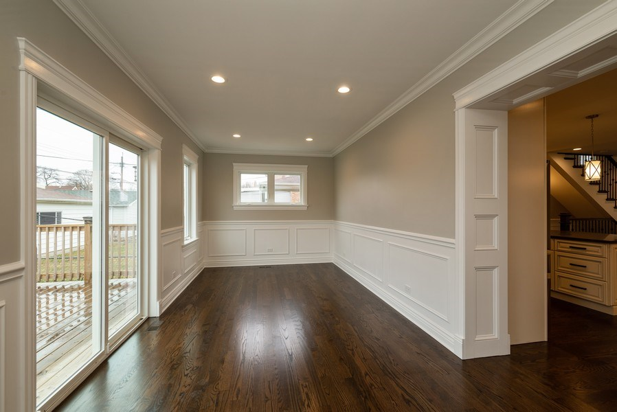 Real Estate Photography - 4130 North Mango Ave, Chicago, IL, 60634 - Dining Room