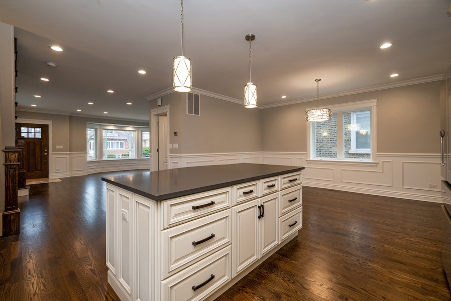 Real Estate Photography - 4130 North Mango Ave, Chicago, IL, 60634 - Great Room