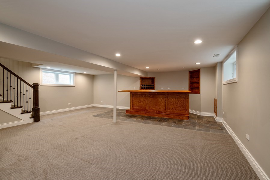 Real Estate Photography - 4130 North Mango Ave, Chicago, IL, 60634 - Family Room