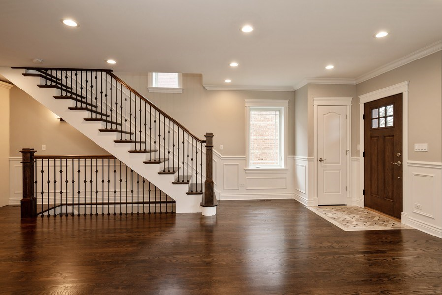 Real Estate Photography - 4130 North Mango Ave, Chicago, IL, 60634 - Foyer