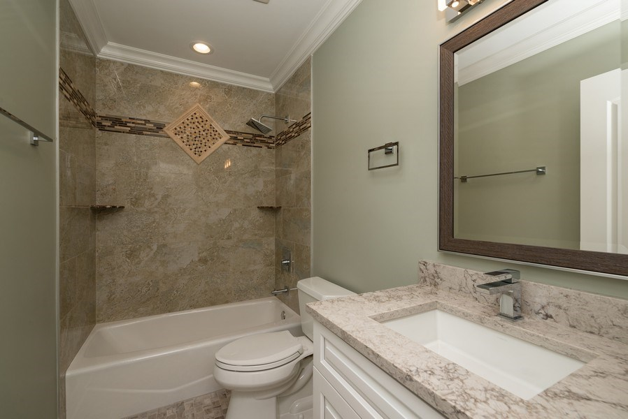 Real Estate Photography - 4130 North Mango Ave, Chicago, IL, 60634 - 3rd Bathroom