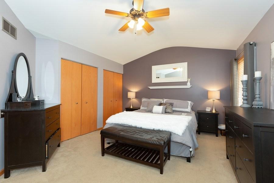 Real Estate Photography - 3811 Landings Road, Joliet, IL, 60431 - Master Bedroom