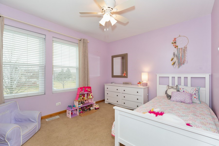 Real Estate Photography - 3811 Landings Road, Joliet, IL, 60431 - 2nd Bedroom