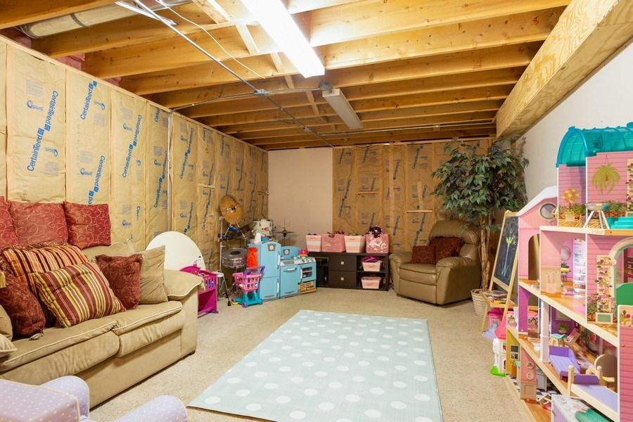 Real Estate Photography - 3811 Landings Road, Joliet, IL, 60431 - Basement