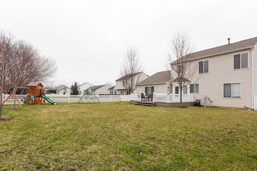 Real Estate Photography - 3811 Landings Road, Joliet, IL, 60431 - Back Yard