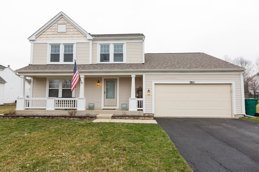 Real Estate Photography - 3811 Landings Road, Joliet, IL, 60431 - Front View
