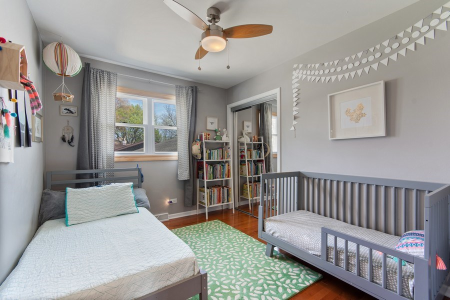 Real Estate Photography - 403 Oriole Street, Bloomingdale, IL, 60108 - 2nd Bedroom