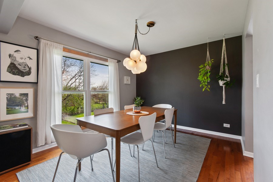 Real Estate Photography - 403 Oriole Street, Bloomingdale, IL, 60108 - Dining Room