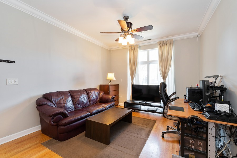 Real Estate Photography - 756 W. 14th Street, Unit 102, Chicago, IL, 60607 - Living Room