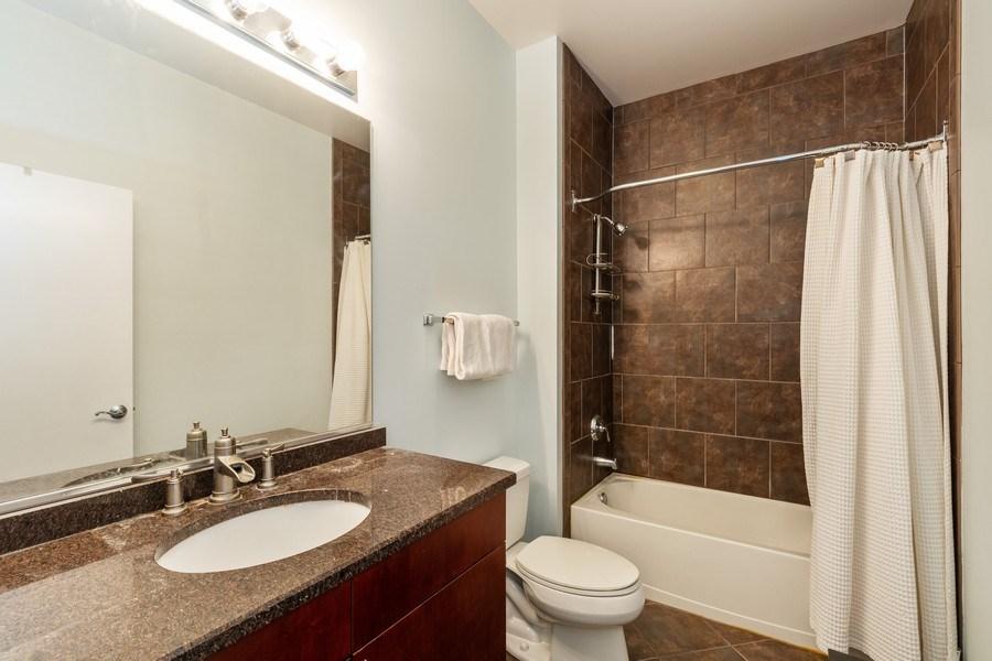 Real Estate Photography - 756 W. 14th Street, Unit 102, Chicago, IL, 60607 - Bathroom