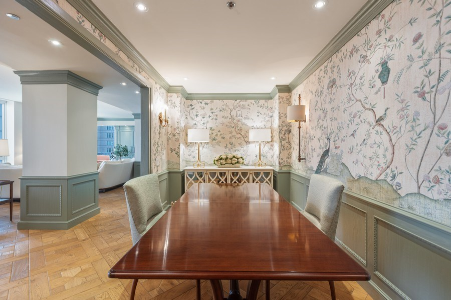 Real Estate Photography - 55 E. Erie Street, Unit 3501, Chicago, IL, 60611 - Dining Room