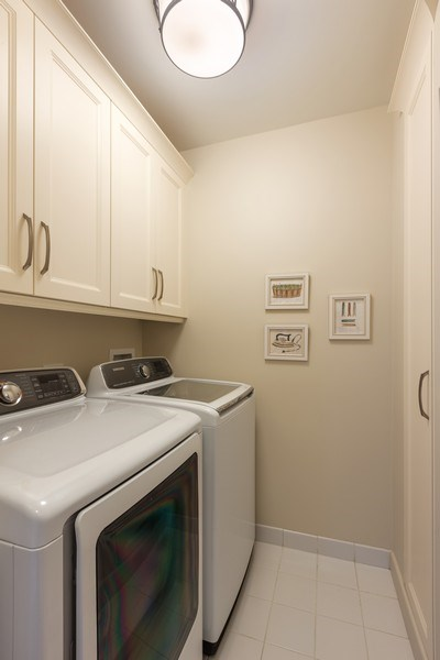 Real Estate Photography - 55 E. Erie Street, Unit 3501, Chicago, IL, 60611 - Laundry Room