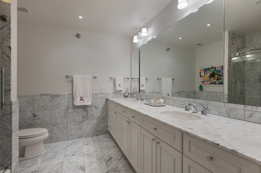 Real Estate Photography - 55 E. Erie Street, Unit 3501, Chicago, IL, 60611 - Bathroom