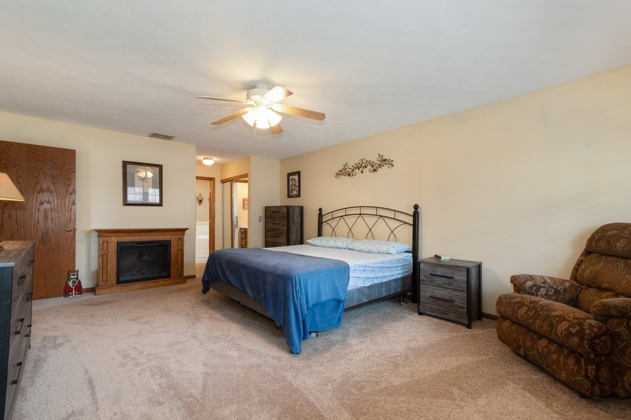 Real Estate Photography - 1225 Lynnfield Lane, Bartlett, IL, 60103 - Master Bedroom