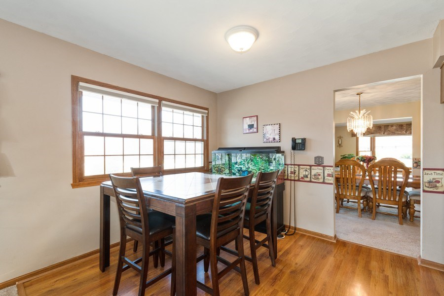 Real Estate Photography - 1225 Lynnfield Lane, Bartlett, IL, 60103 - Breakfast Nook