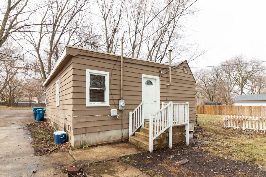 Real Estate Photography - 1118 Watson Street, Aurora, IL, 60505 - Rear View