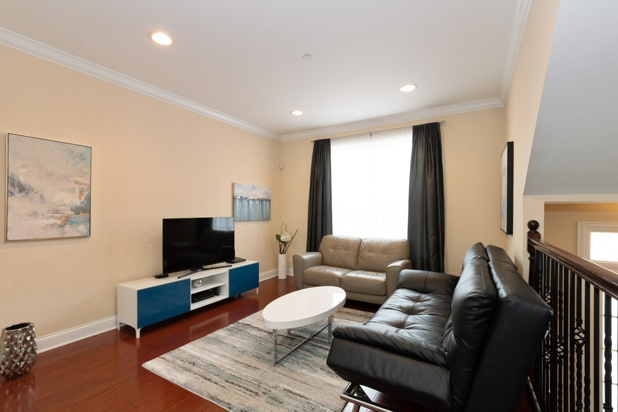 Real Estate Photography - 205 N. louis Street, Unit C, Mount Prospect, IL, 60056 - Living Room