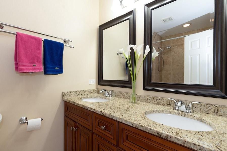 Real Estate Photography - 205 N. louis Street, Unit C, Mount Prospect, IL, 60056 - Master Bathroom