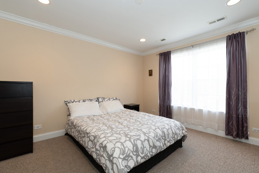 Real Estate Photography - 205 N. louis Street, Unit C, Mount Prospect, IL, 60056 - Master Bedroom