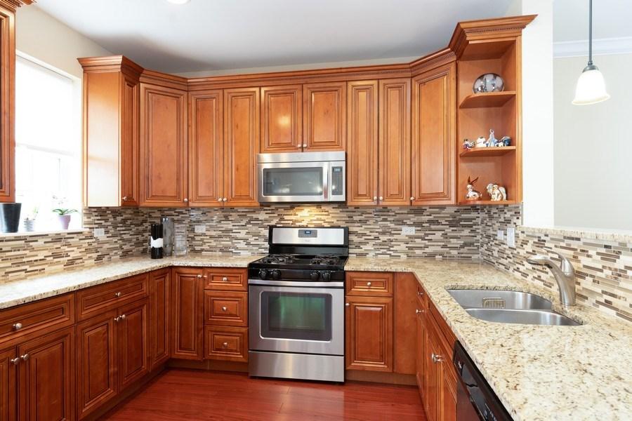 Real Estate Photography - 205 N. louis Street, Unit C, Mount Prospect, IL, 60056 - Kitchen