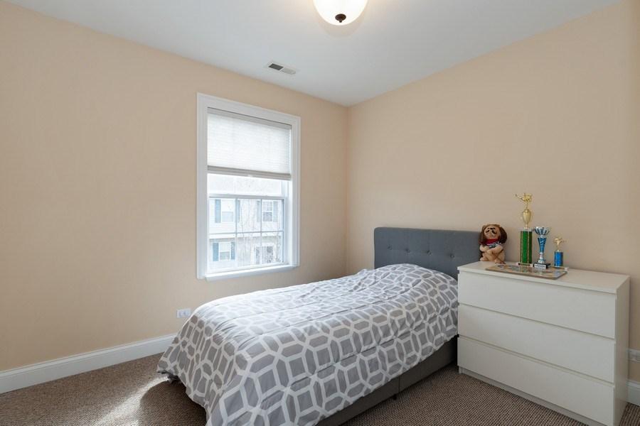 Real Estate Photography - 205 N. louis Street, Unit C, Mount Prospect, IL, 60056 - Bedroom